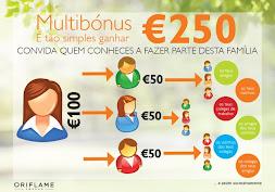 Ganha 250€ - Multibónus