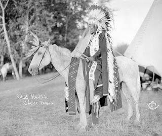Chief Ka-Lit-In Cayuse Tribe