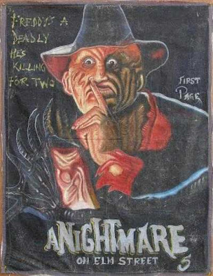 A nightmare on elm street 5 poster ghana