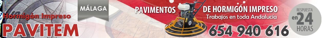 PAVITEM - 654 940 616 - Hormigón impreso y pulido en Málaga