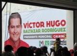 Inicia proselitismo Víctor Hugo Baltazar candidato Edil PRI-PVEM a comuna Calkiní. 14mayo12.