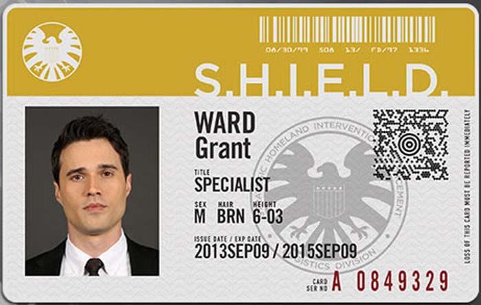 Ward agentes de shield