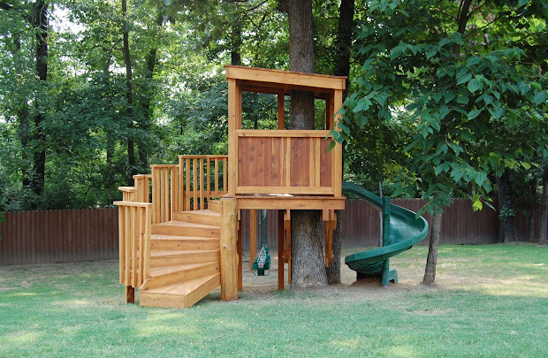 Kids Tree House Idea