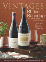LCBO Vintages Magazine - June 22, 2013 Recommendations