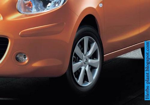 Nissan march car 2013 tyres/wheels - صور اطارات سيارة نيسان مارش 2013