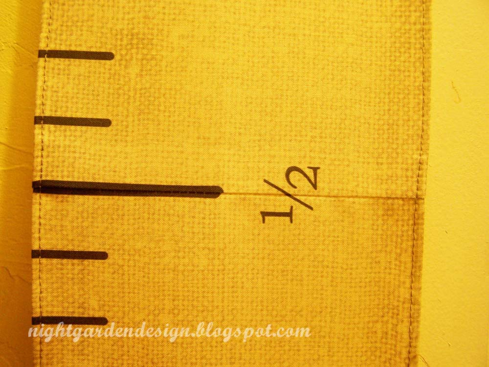 Night Garden Blog Antique Style Tape Measure Growth Chart