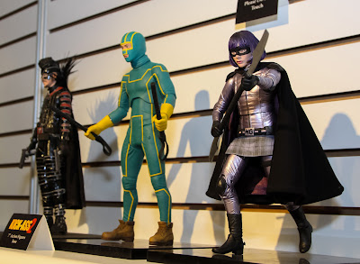 NECA 2013 Toy Fair Display Pictures - Kick-Ass 2 figures