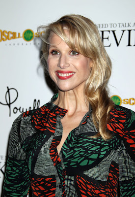 Lucy Punch Long Wavy Cut with Bangs Hairstyle
