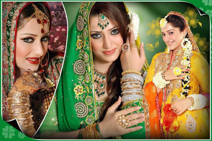 It is also become the custom of any Indian Pakistani wedding ceremony