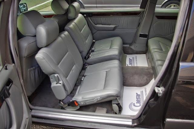 mercedes w124 limousine interior