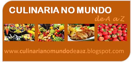 CULINARIA NO MUNDO de A a Z: RECEITAS CULINARIA DE A A Z on