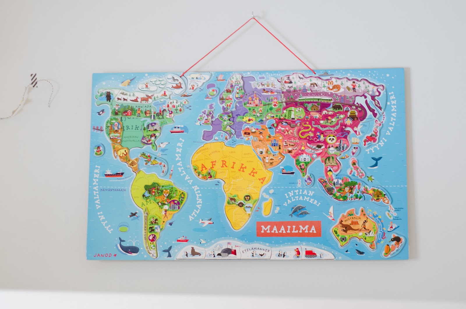 fun with the world map magnetic