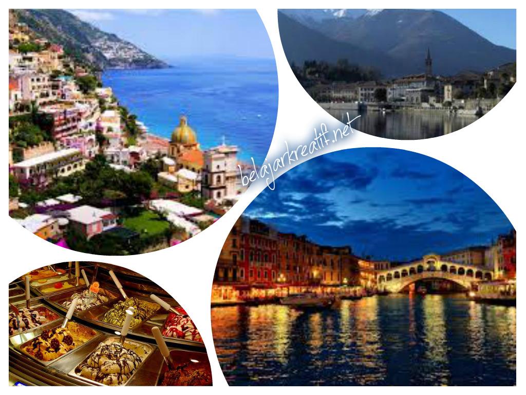 Gambar tempat yang tak bisa di lewatkan saat liburan di italia