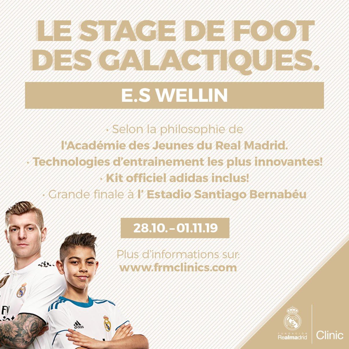 """Inscriptions stage de football """"Les Galactiques"""" à la Toussaint"""