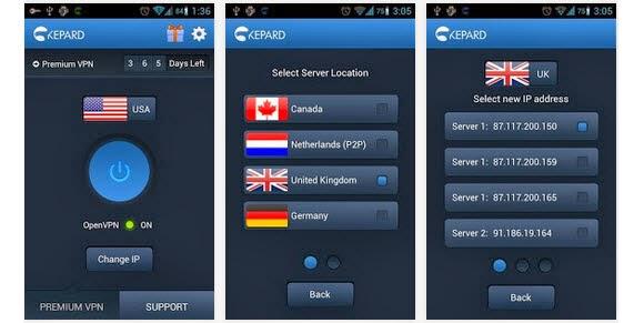 kepard-android-app