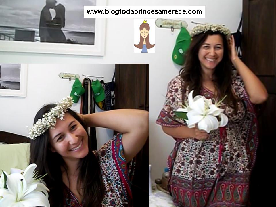 crown flowes gypsofila wedding