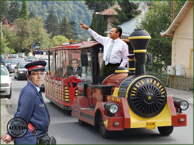 Funny photo Victor Ponta Radu Berceanu