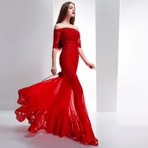 Wedding Dresses red - women\'s fashion