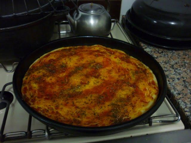 Cocina rapida y facil pizza casera - Cocina rapida y facil ...