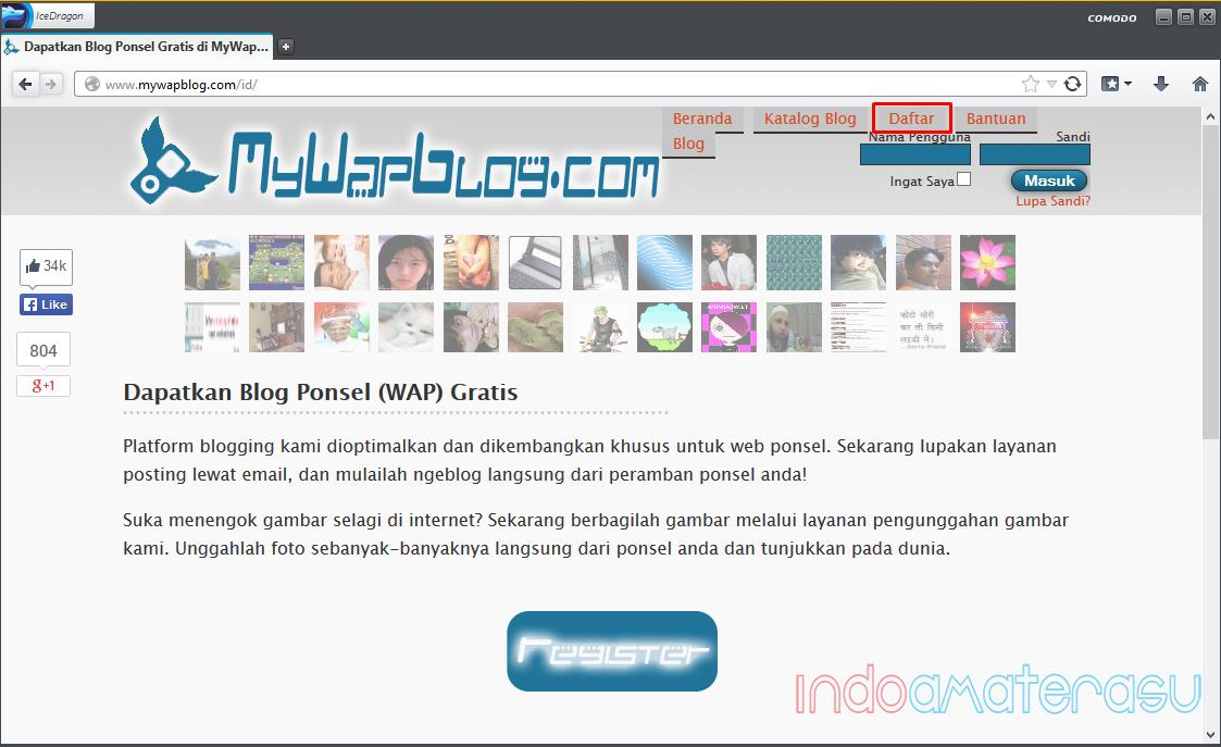 Cara Membuat Blog Ponsel Dengan MyWapBlog