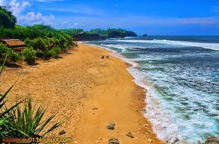 Wisata Pantai Watu Kodok Gunungkidul Yogyakarta