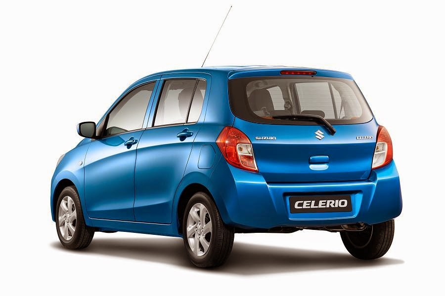 Suzuki Celerio (2015) Rear Side