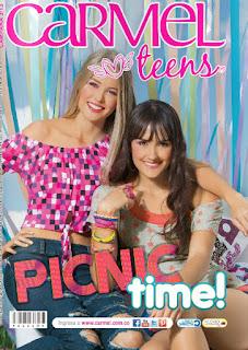 Revista moda carmel teens colombia campaña 03 2017