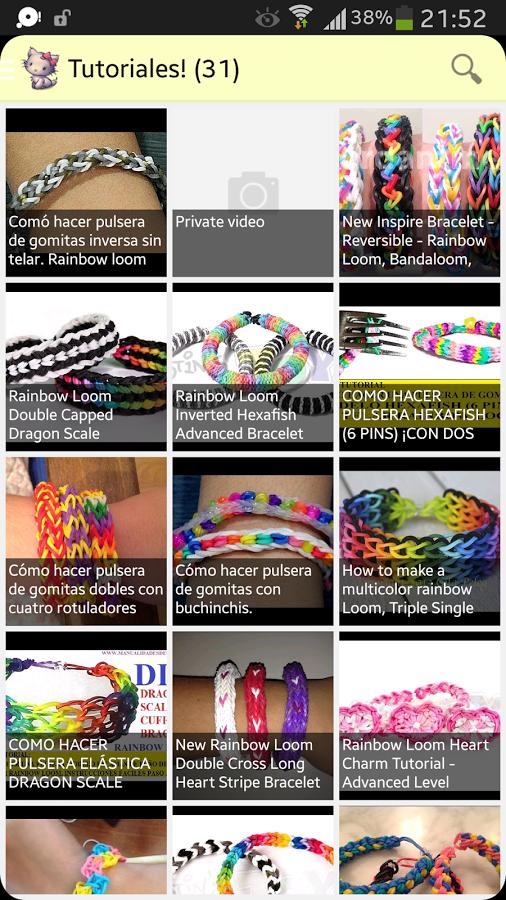 App Pulseras de Goma para Android