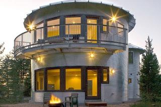 Silo de Granos Convertido en Vivienda, Arquitectura Sostenible