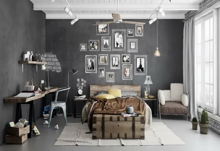 gri duvar boyası