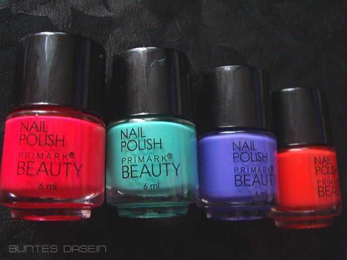 Buntes Dasein Textmarker-Nu00e4gel Mit Primark Beauty
