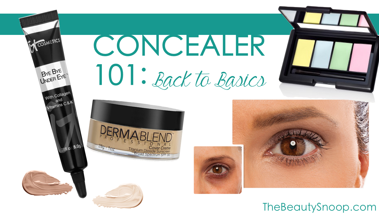 WHAT YOU SHOULD KNOW BEFORE YOUR NEXT CONCEALER PURCHASE