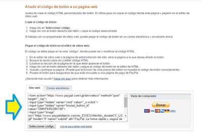 Blog, Blogger, Blogging, PayPal, Insertar, Tutorial, Botón,