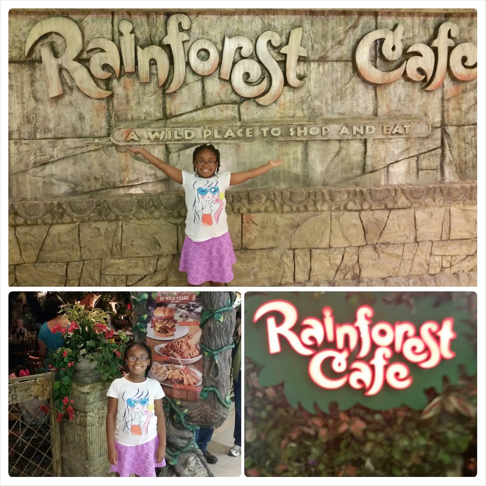 My Epic Family Road Trip Vacation! #RoadTrip #RainforestCafe via ProductReviewMom.com
