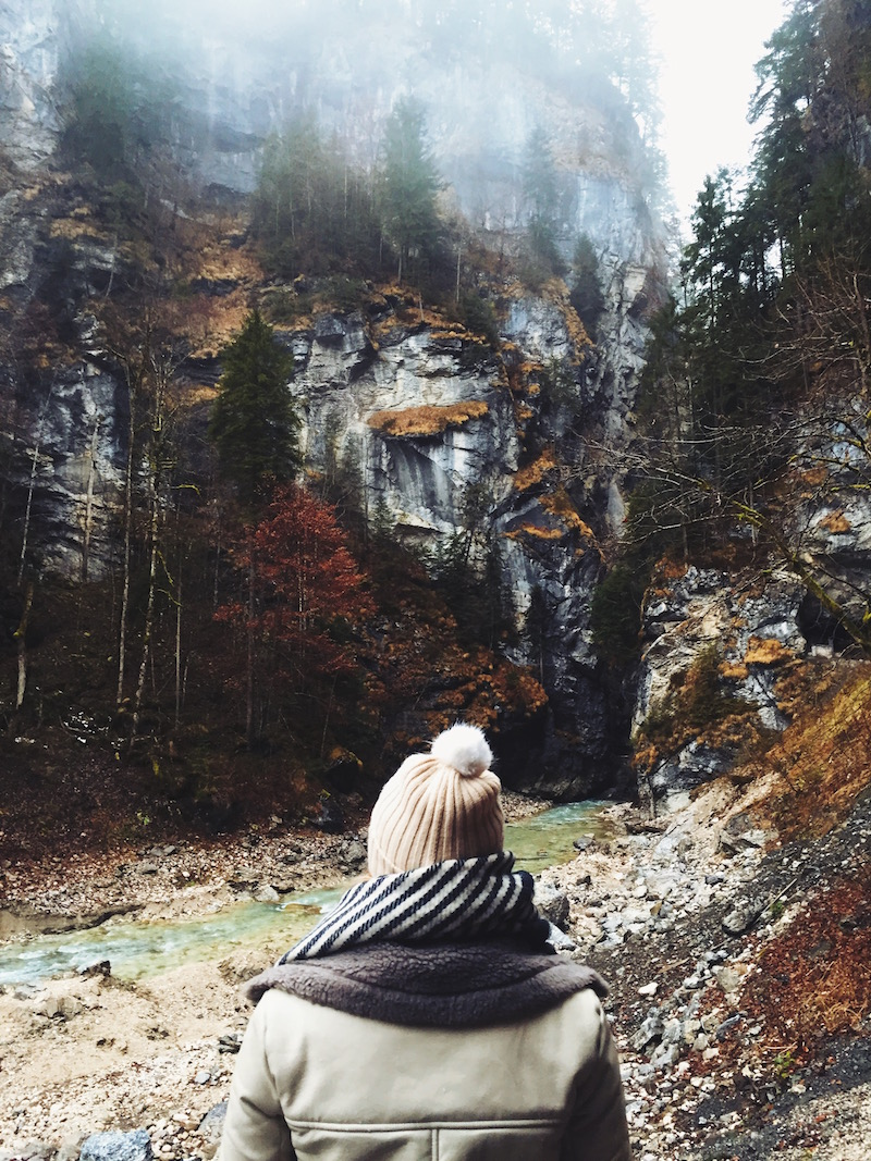 Partnach Gorge, Garmisch Germany beautiful places to travel in the world travel diary on Germany by Bryn Newman of Stone Fox Style