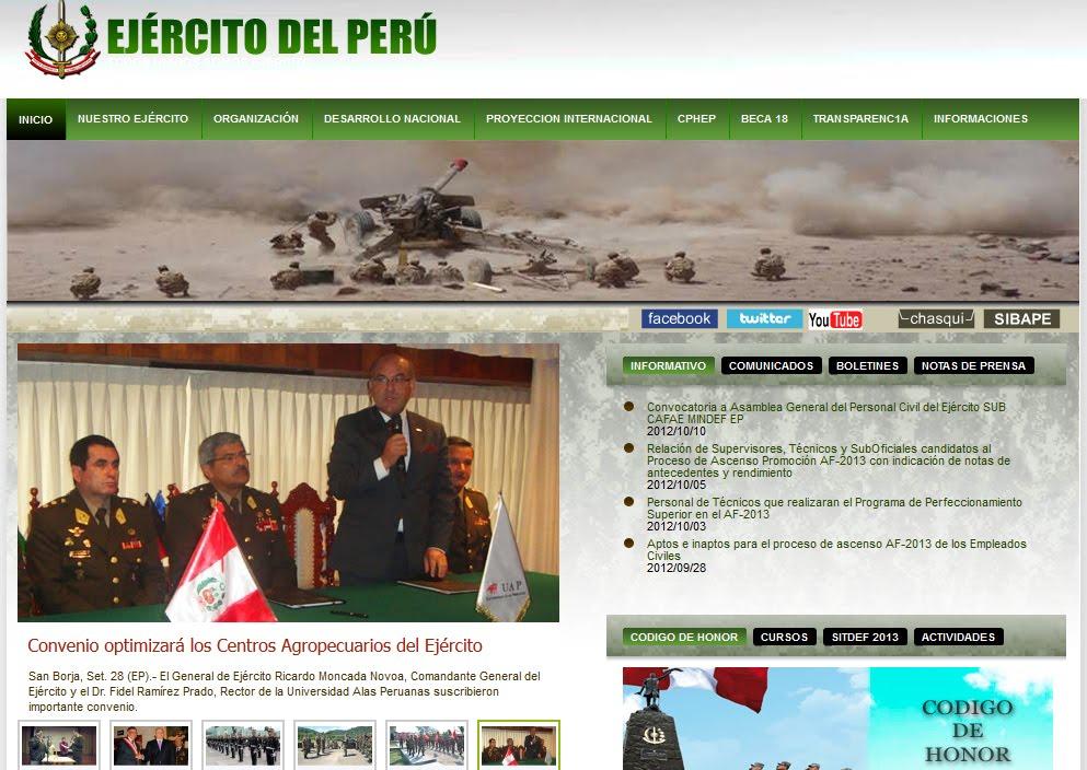se publicaron la relacion de ascensos en el ejercito peruano la marina ...