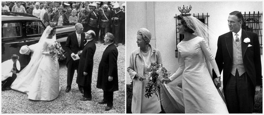 Margaretha Married Businessman John Ambler At The End Of June 1964 Following Her Sister Princess Desirees Wedding Beginning That Same Month