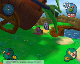 Worms 3D Game