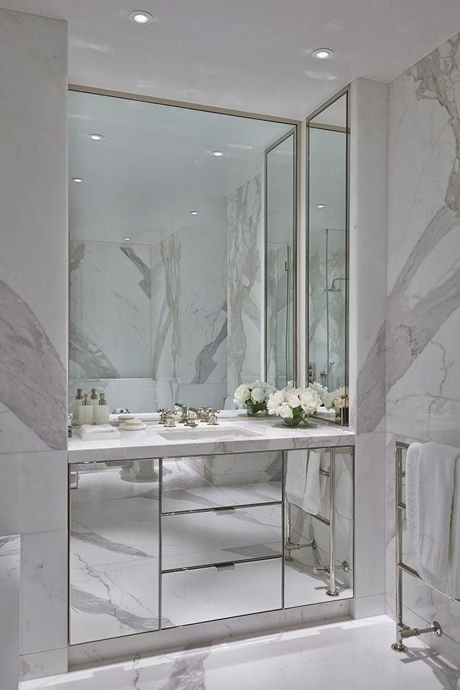 Marmur W łazience Grey Cosy