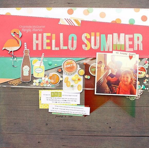 All Scrapbook Steals The Blog Summertime Memories