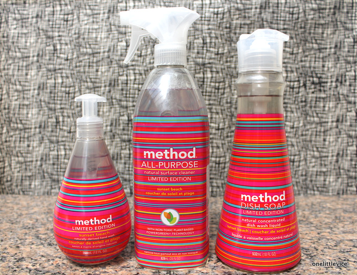 one little vice lifestyle blog: green cleaning products from Method