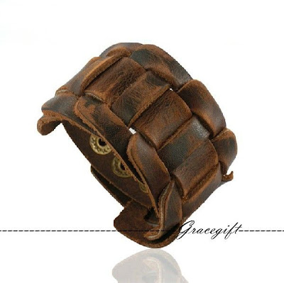 men bracelets leather