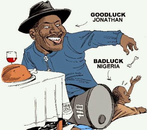 Nigerian president jonathan cartoons