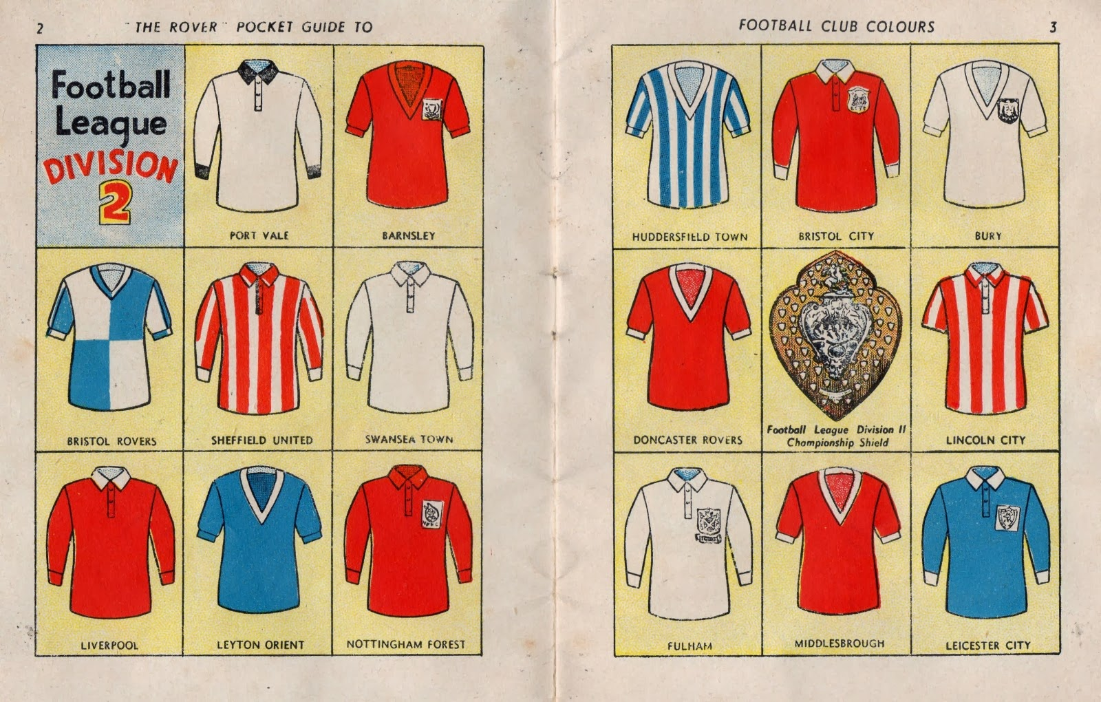 D.C. Thomson / The Rover - THO-241 The Rover Pocket Guide to Football Club