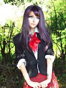 A Real Life Anime Girl. Anastasiya Shpagina, 19, models herself on . (article dc )