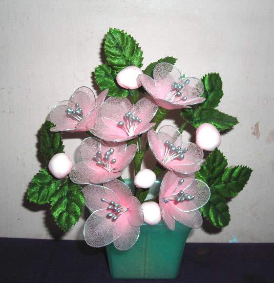 Innovative Handicrafts Stocking Flower Making