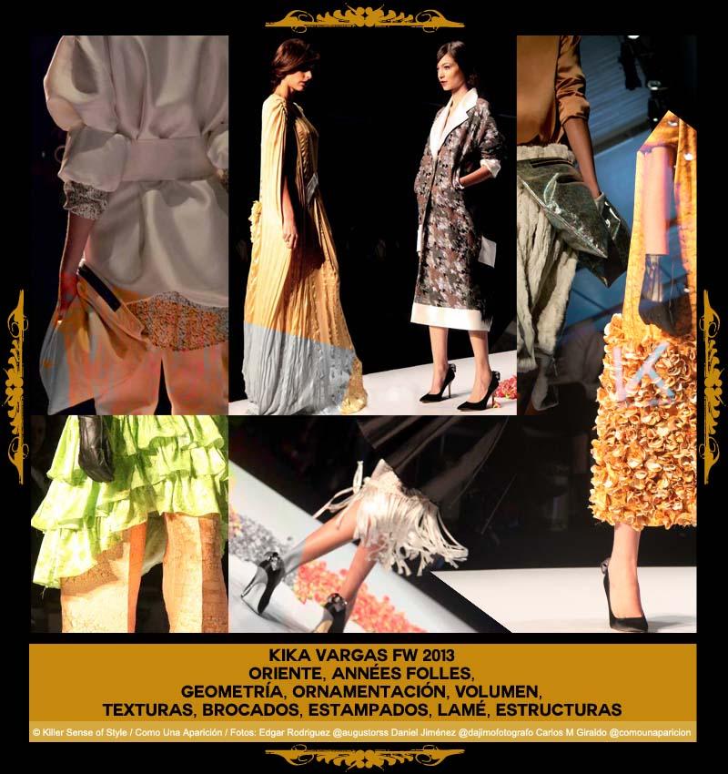 kika vargas - círculo de la moda de bogotá - desfiles - moda - colombia - como una aparición - killer sense of style