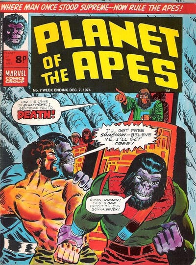 Marvel UK, Planet of the Apes #7