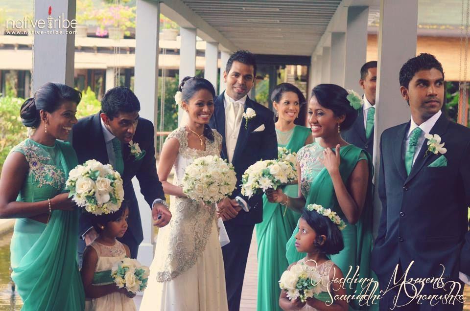 Sri Lankan Bridesmaid