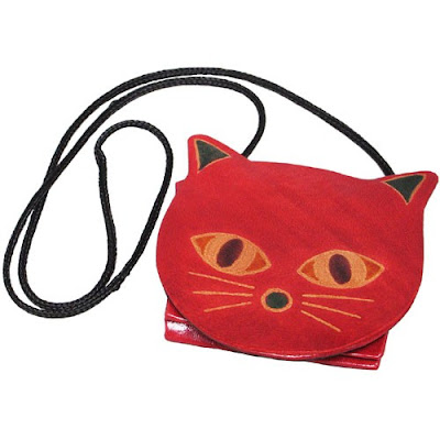 Corded Cat Coin Purse India
